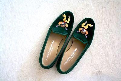 Os slippers ganham as ruas
