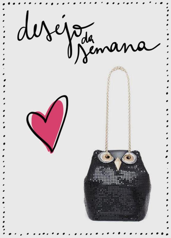 Acessório-desejo: bolsa de coruja