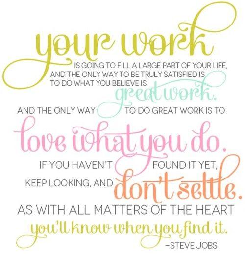 I ♥ my job!
