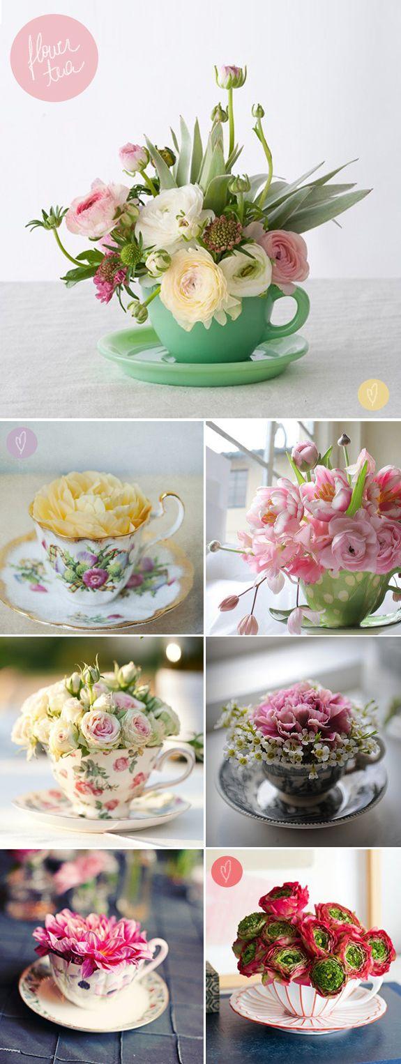 Chá de flores