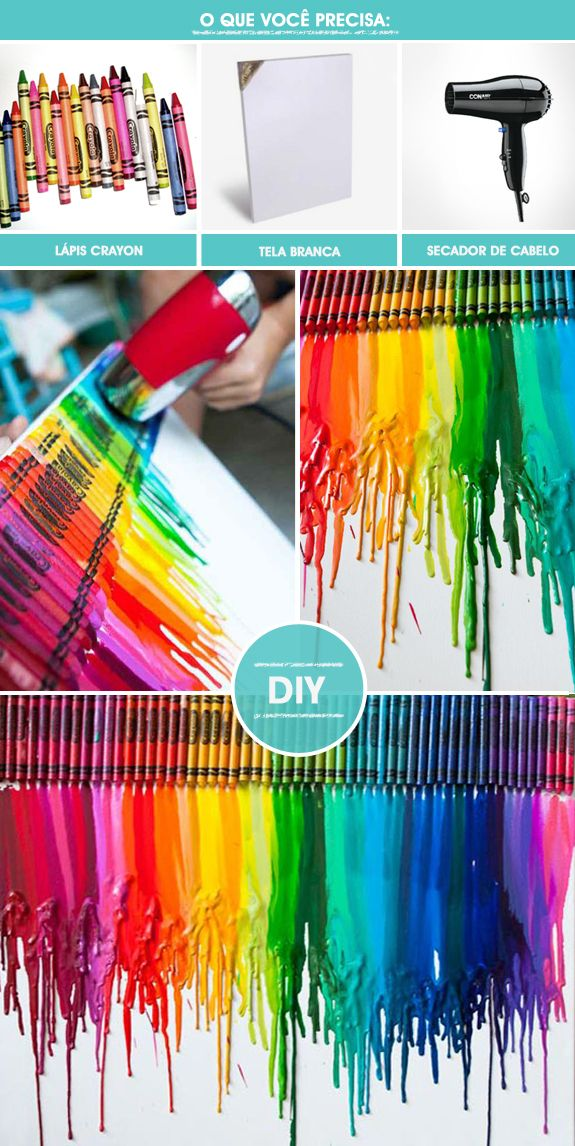 DIY – Crayon Art