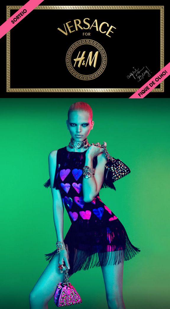 Sorteio – Versace para H&M