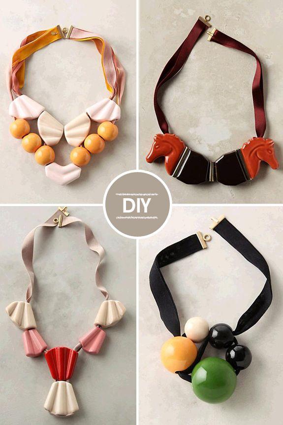 DIY – Colar de fita