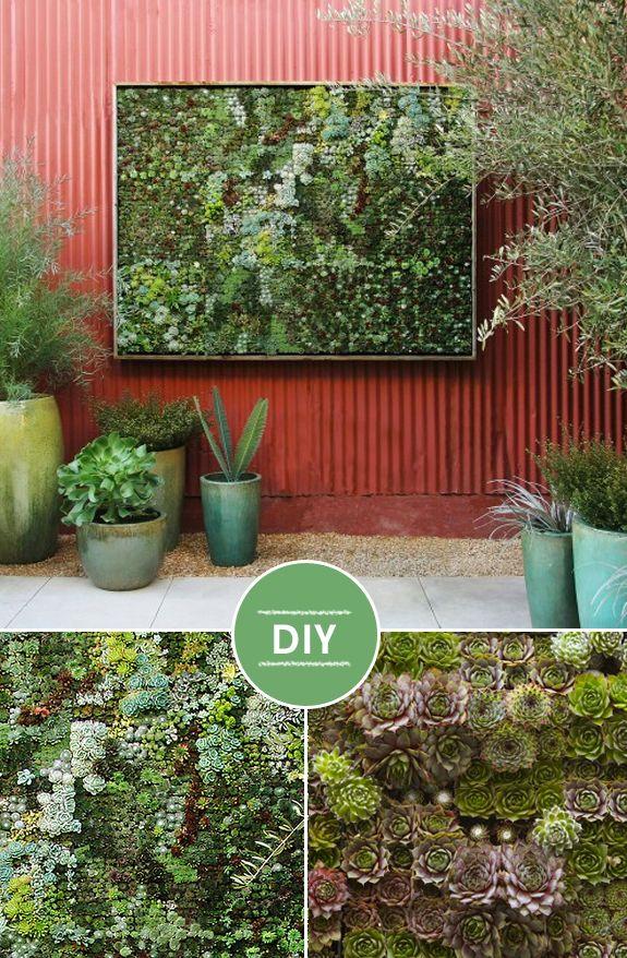 DIY – Painel de plantas