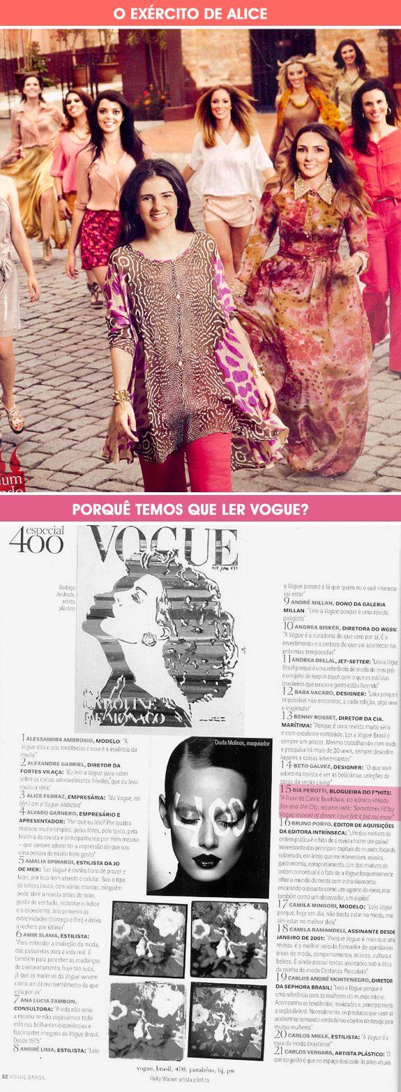 F*Hits na Vogue 400