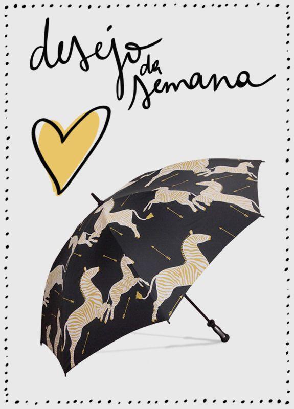 Desejo da semana: guarda-chuva DIGS