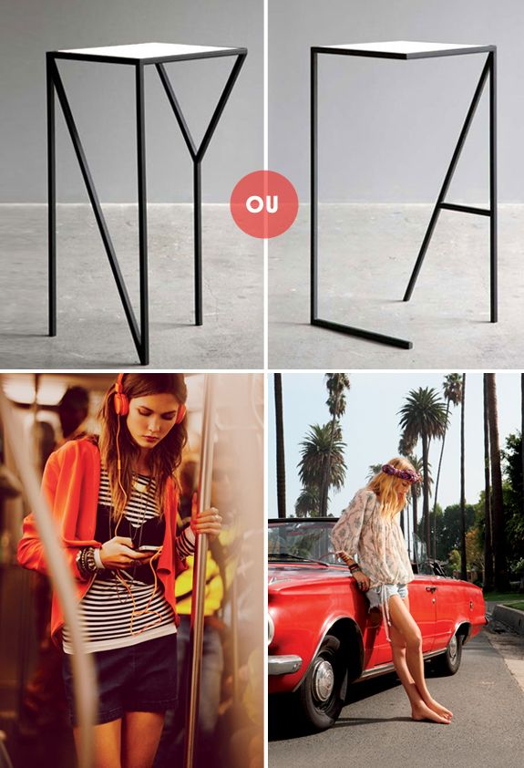 NY ou LA? Qual seu estilo?
