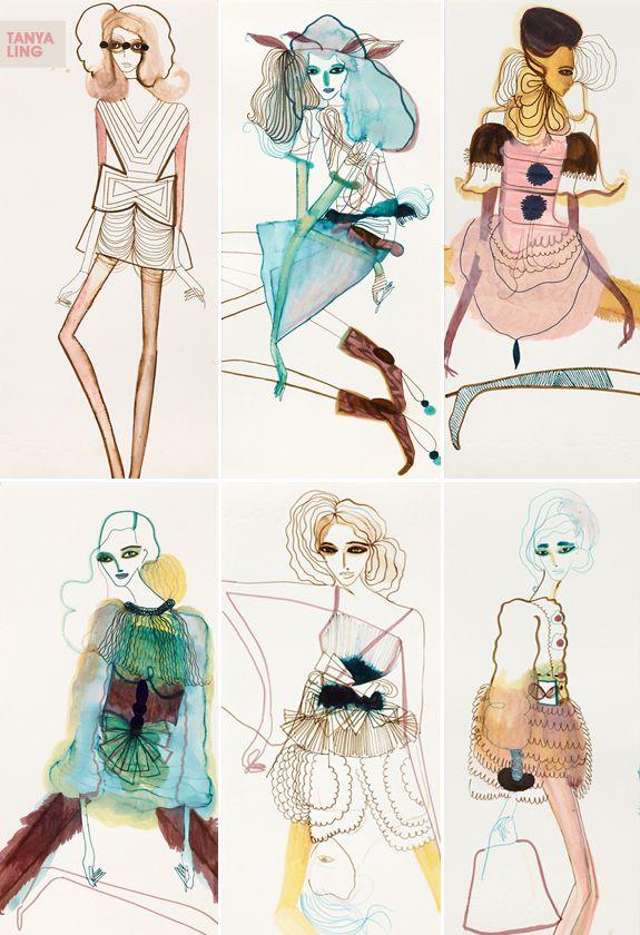 A arte de Tanya Ling