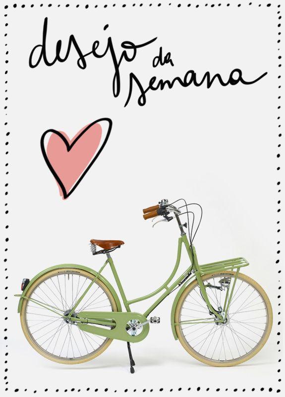 Desejo da Semana: Bicicleta Retrô