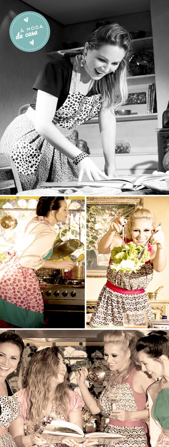 à moda da casa: Fashion Cuisine