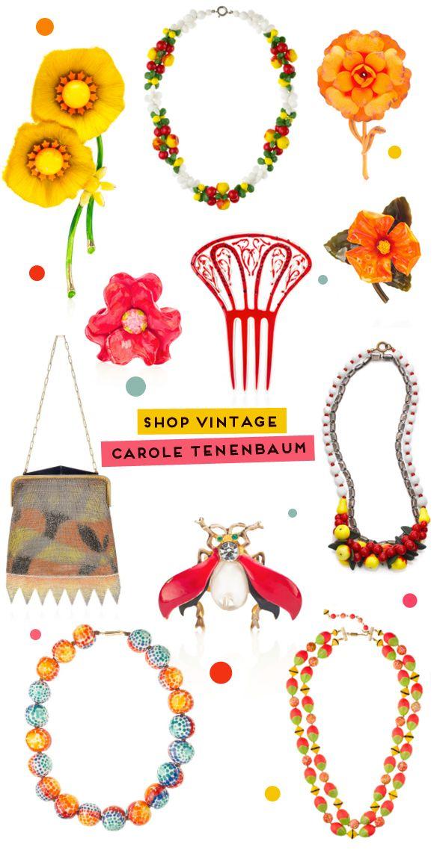 Vintages de Carole Tenenbaum