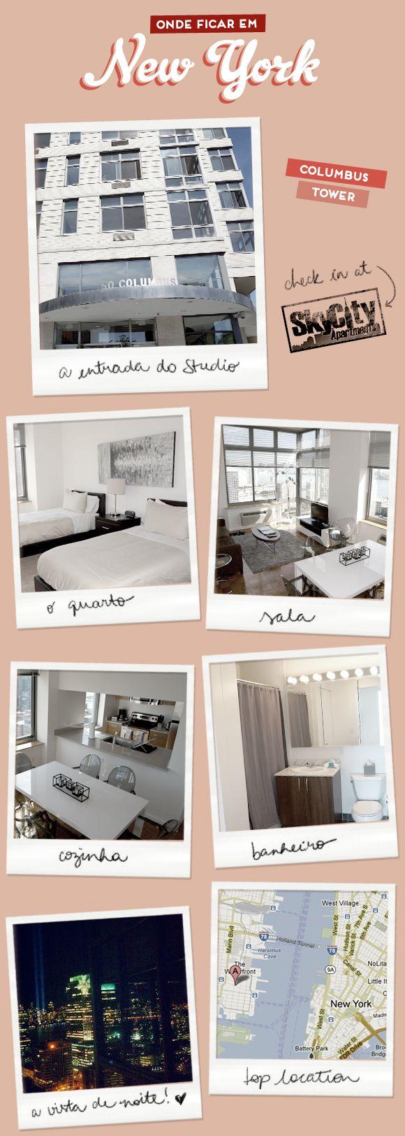 Onde ficar em NY | Sky City Apartments