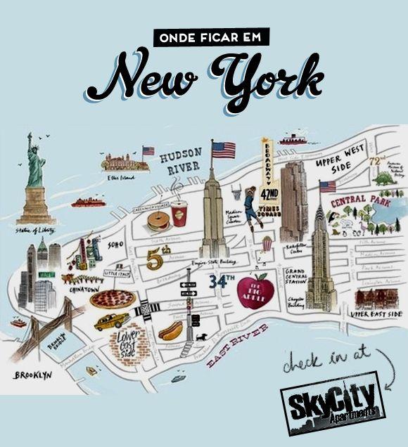 Onde ficar em NY: Sky City Apartments