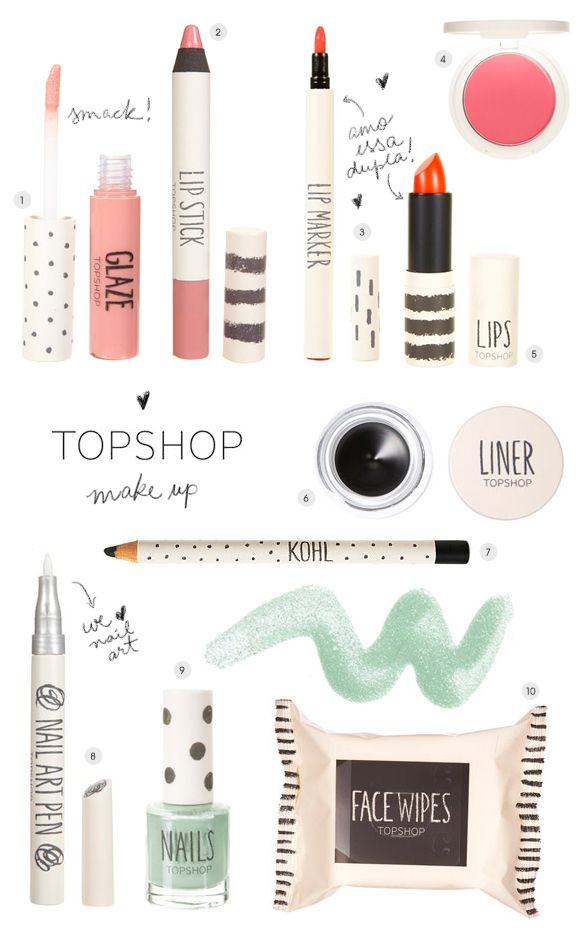 Topshop Make Up | Achados da Bia