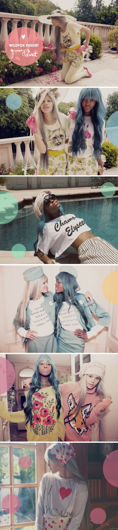 Achados da Bia | Wildfox Resort 2013