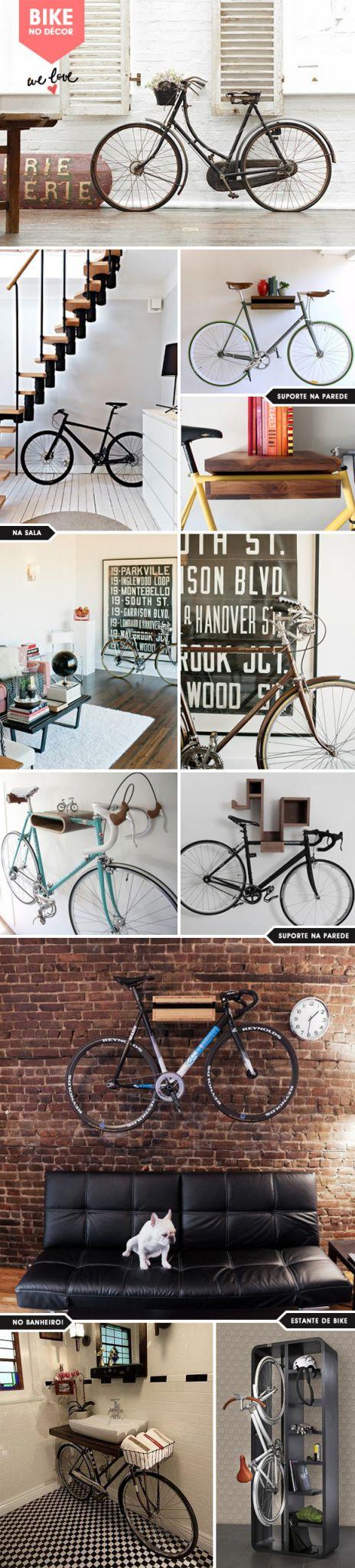 Achados da Bia - Bike no décor
