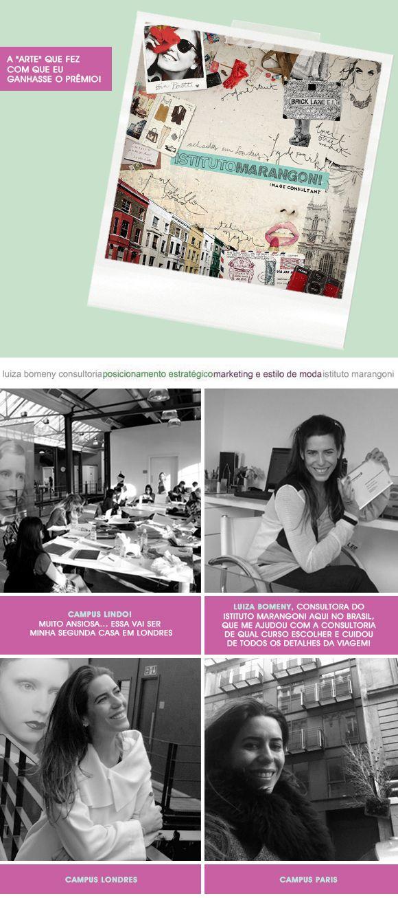 Achados da Bia | Istituto Marangoni + Luiza Bomeny