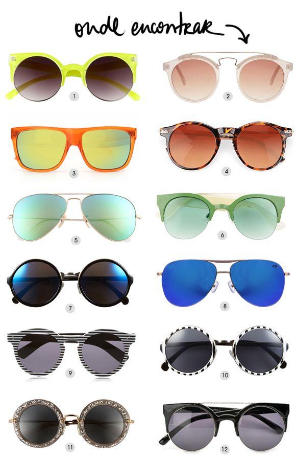 Achados da Bia | Shades of Summer | Óculos redondos, espelhados