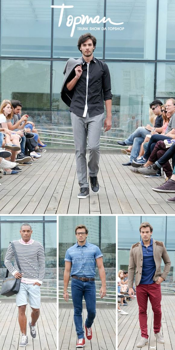 Achados da Bia | Moda masculina | Topman