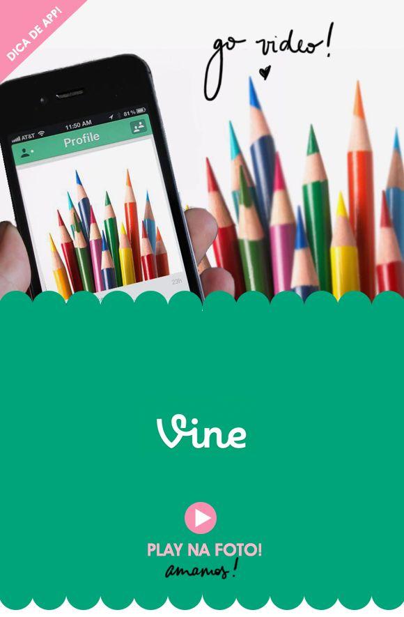 App: vine – o novo instagram, em vídeo!