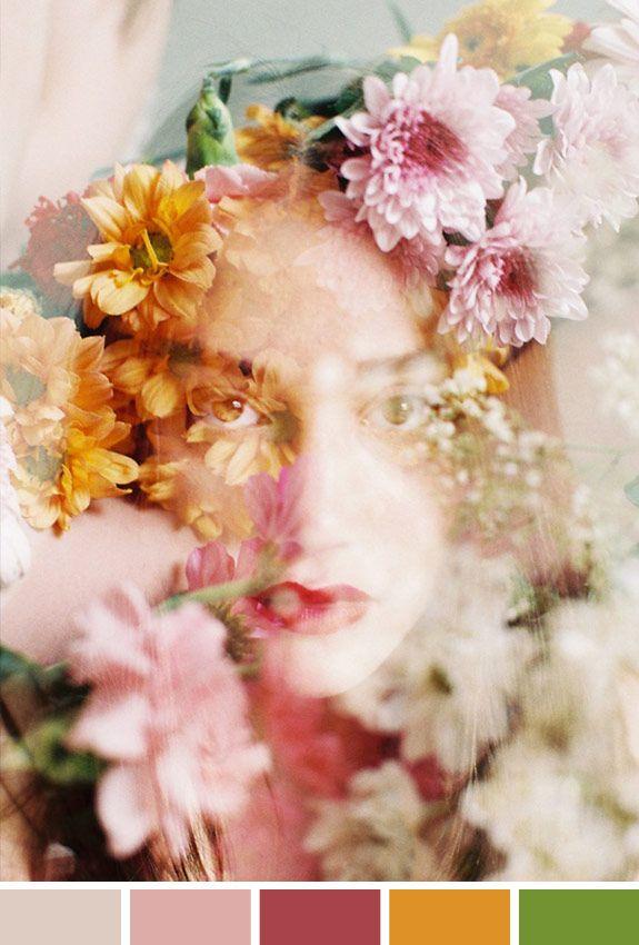 Inspiração do Dia   Campanha   Flor, tule, renda, cor, brilho