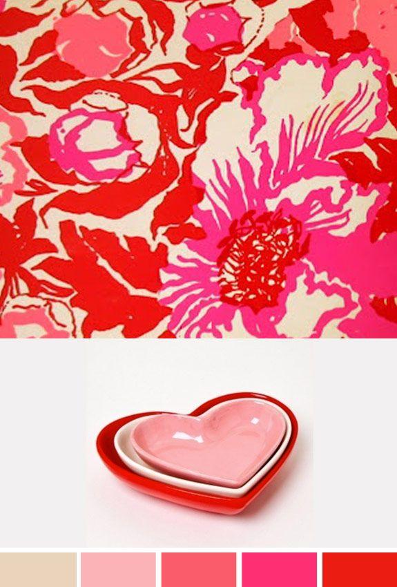 Inspiração do Dia | Pink e Vermelho
