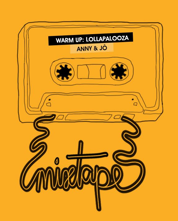 Achados da Bia | Friday Mixtape | Esquenta Lollapalooza