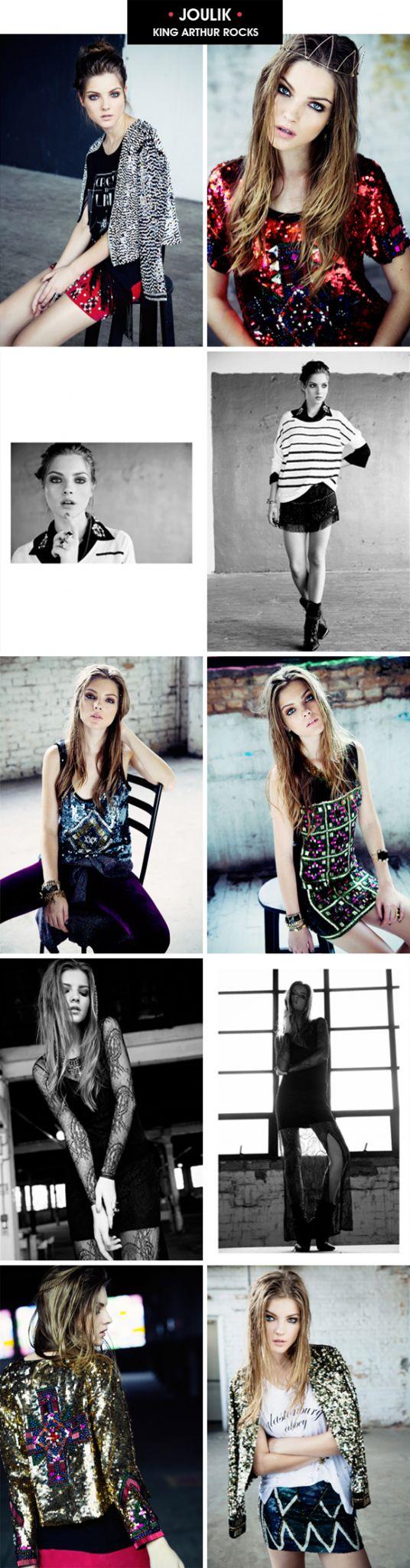 Achados da Bia | Moda | Lançamento Inverno 2013 | Joulik | King Arthur