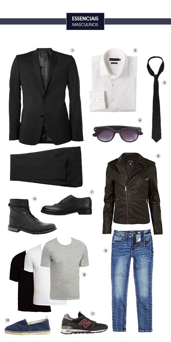 Achados da Bia | Essenciais do guarda-roupa masculino | Eduardo Lautert