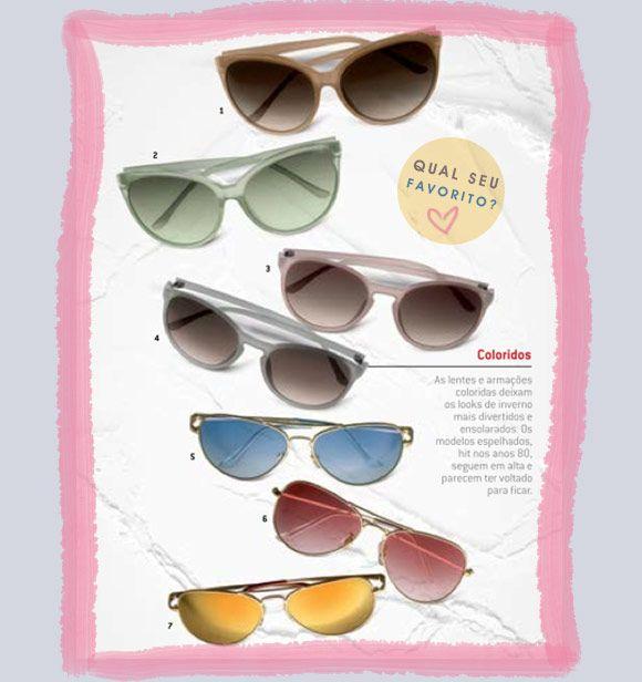 Achados da Bia | Acessórios | Tendência | óculos Coloridos | Renner