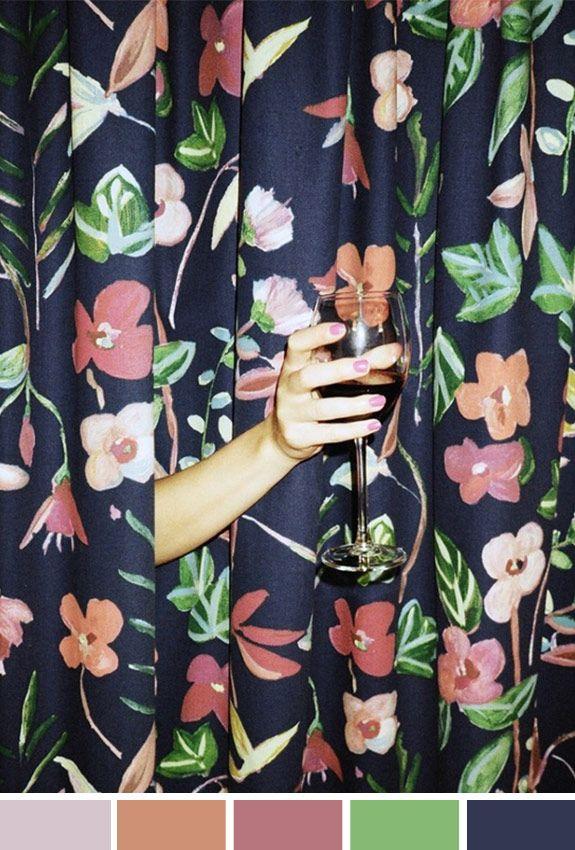 Achados da Bia | Inspiração do Dia | Sexta-feira | Flores e drinks