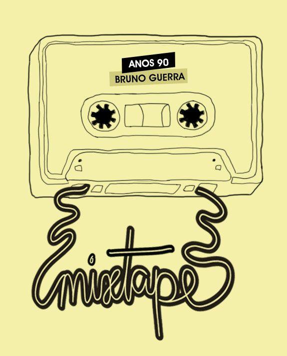 Achados da Bia | Friday Mixtape | Anos 90 | Bruno Guerra