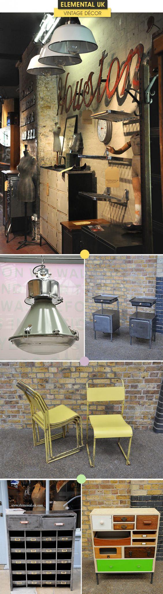 Achados da Bia | Loja de decoração | Londres | Móveis vintage | Elemental UK
