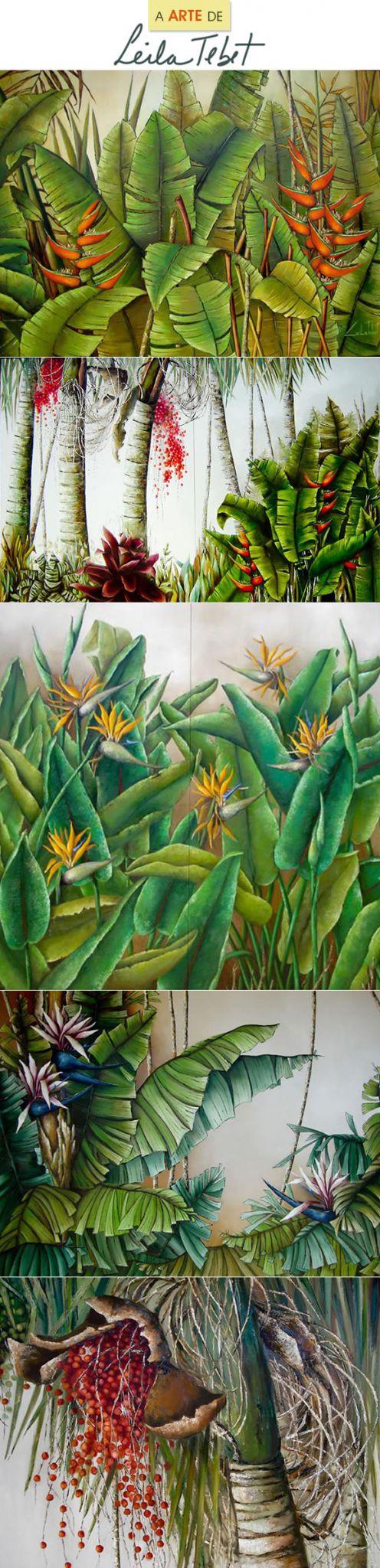 Achados da Bia | Tropicalismo | Arte | Leila Tebet | Tendência