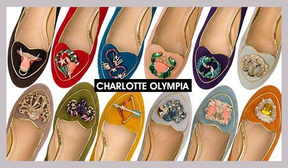 Achados da Bia | Slippers | Charlotte Olympia | Signos