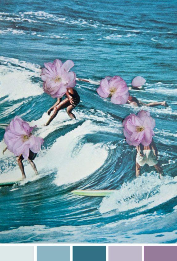 Inspiração do Dia | Surfe | Flores