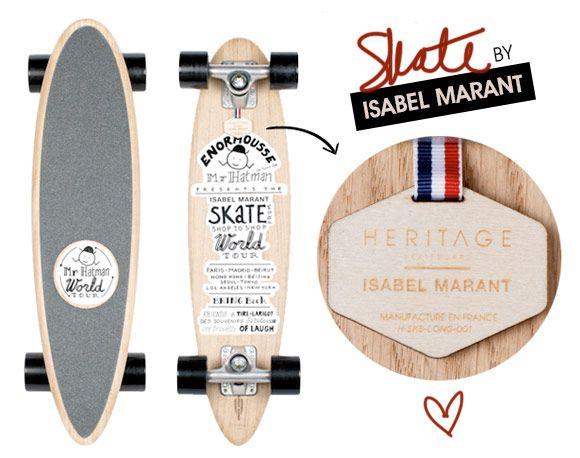 Achados da Bia | Skate Isabel Marant | Heritage