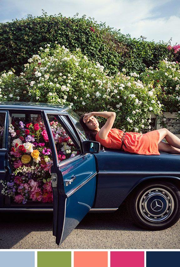 |Achados da Bia | Inspiração do Dia | Carro flores