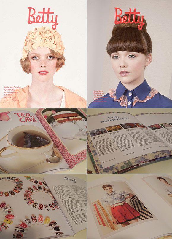 Achados da Bia | Revistas importadas | Moda | Arte | Betty