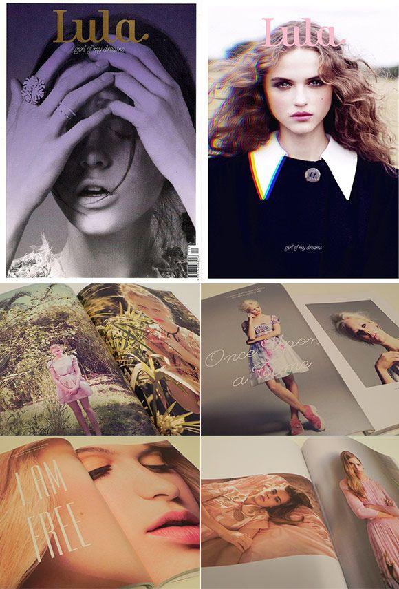 Achados da Bia | Revistas importadas | Moda | Arte | Lula
