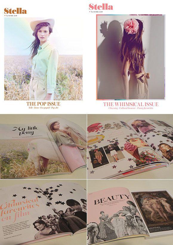 Achados da Bia | Revistas importadas | Moda | Arte | Stella