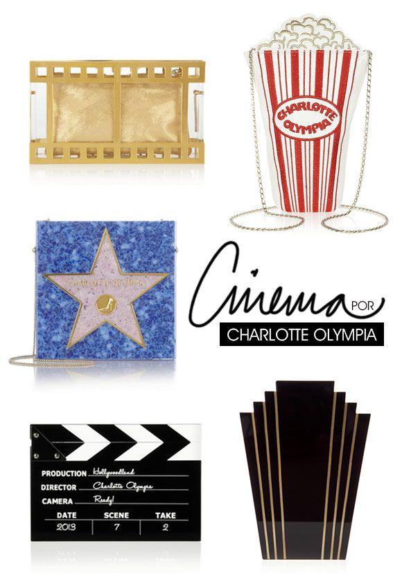 Achados da Bia | Bolsas Charlotte Olympia | Coleção Cinema