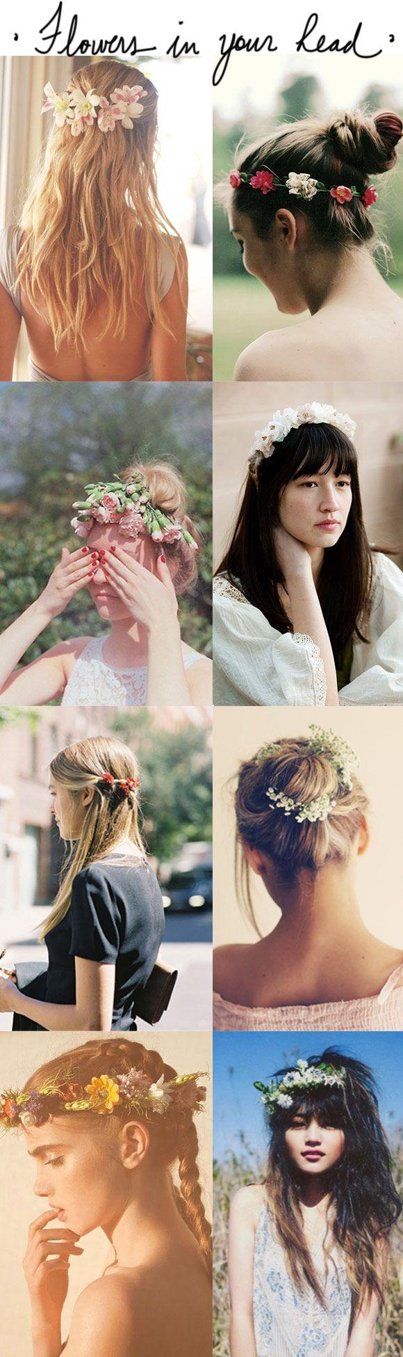 Achados da Bia | Beleza | Penteados | Flores