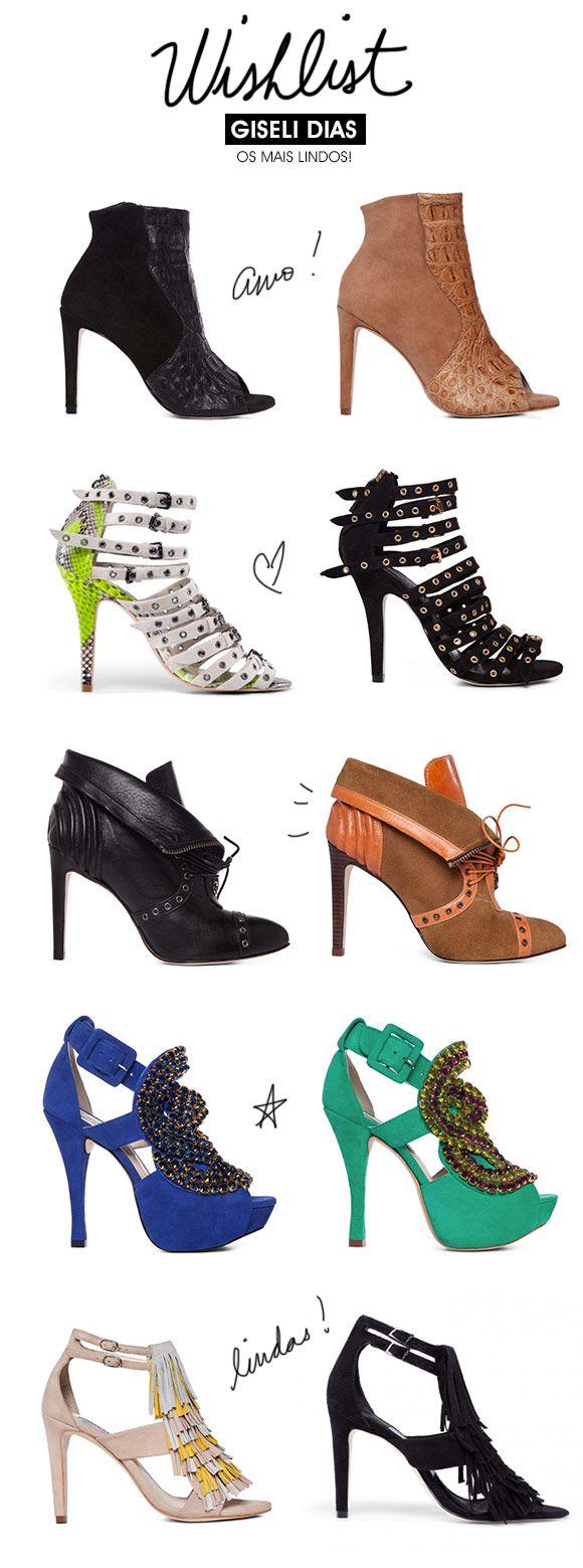 Giseli Dias e seus sapatos-desejo