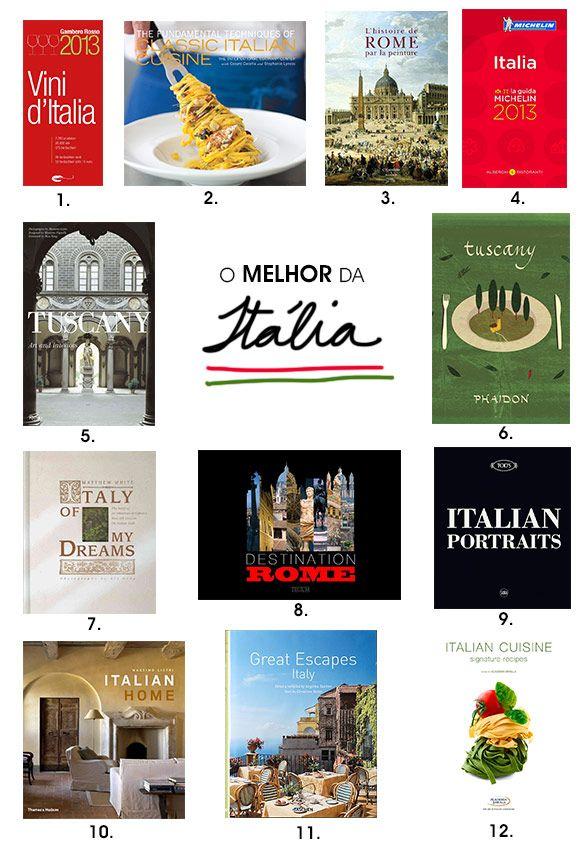 Achados da Bia   Livros   Itália