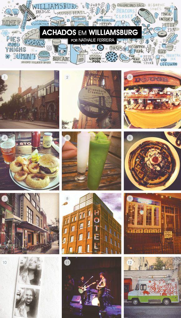 Achados da Bia | Viagem | Turismo | Williamsburg, NY | Nathalie Ferreira