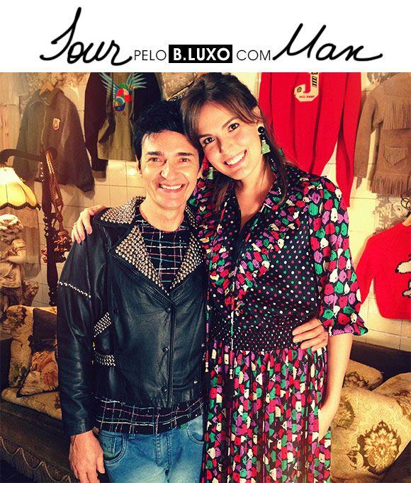 Tour pelo B.Luxo com Max