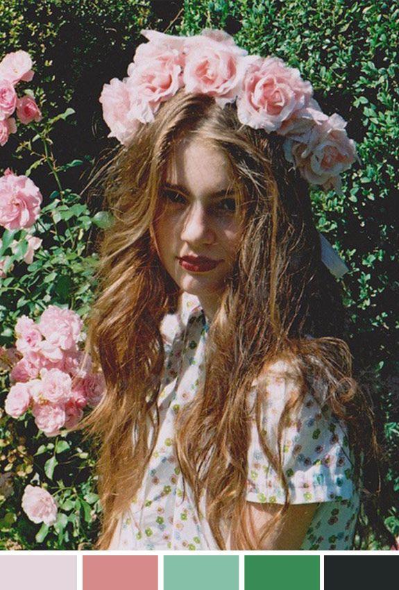 Inspiração do Dia | Sexta-feira | Coroa de flores | Headband