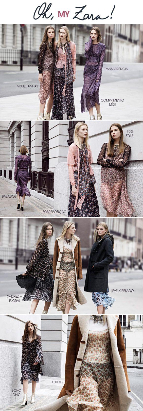 Achados da Bia | Moda | Lançamento | Zara | Fall 14