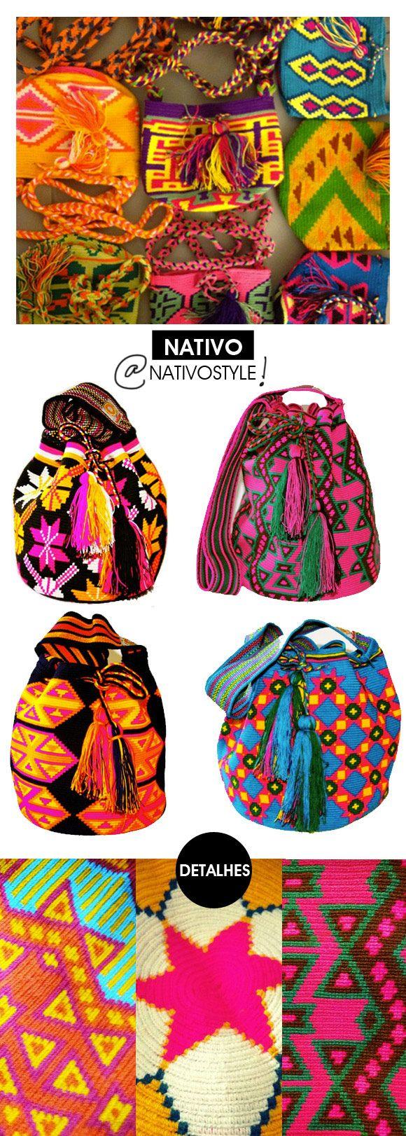 Achados da Bia | Acessório | Bolsa étnica | Nativo Style | Miss Mochila